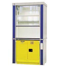Вытяжные шкафы для работы с ЛВЖ с возможностью установки тумбы OSHA