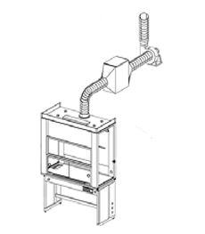 Вентиляторы вытяжные кислотостойкие малошумные