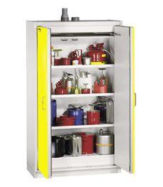 Шкафы безопасности для хранения ЛВЖ производства DUPERTHAL (Германия)