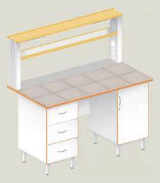 Пристенные столы