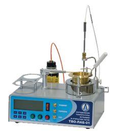 Аппарат для определения температуры вспышки в открытом тигле ЛОИП ТВО-ЛАБ-01