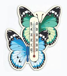 Комнатные термометры на картонном основании Стеклоприбор